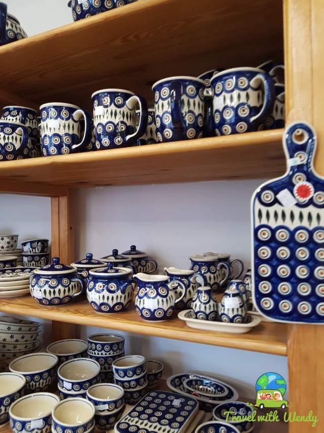 Mugs and more...Polish Pottery