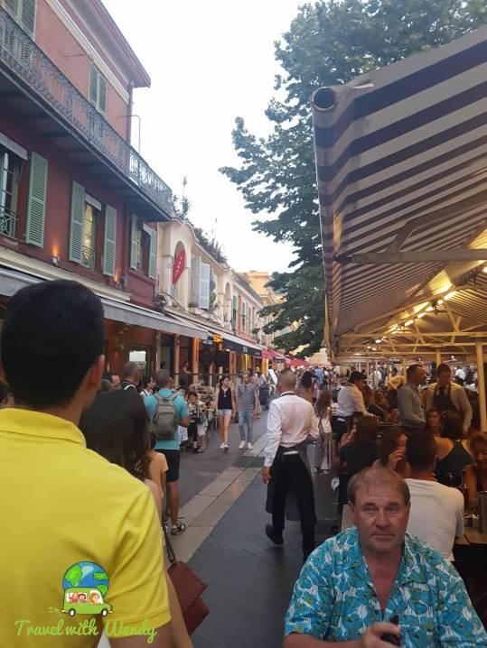 UBER crowded - Nice everywhere