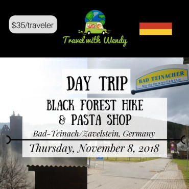 Black Forest Hike & Pasta Shop