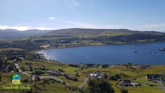 Skye from above