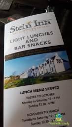 Stein Inn Menu - Skye