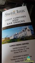 Stein Inn Menu - Skye