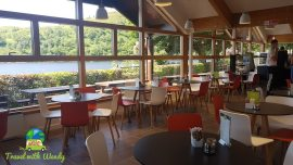 Cruachan dining room - great views