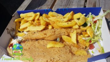 Fish and Chips - that's the small?