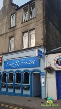 Front - Etive Restaurant - Scotland