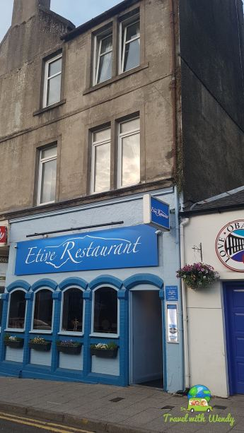 Front - Etive Restaurant