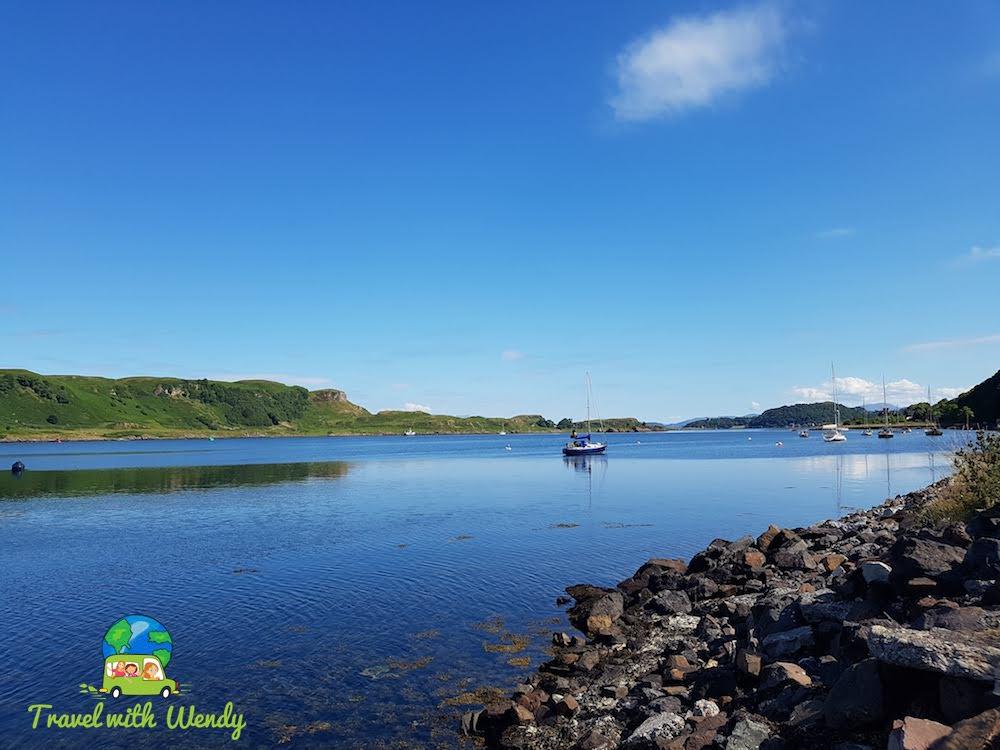 Islands around Oban