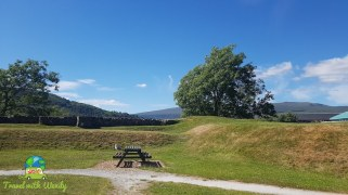 Remains of the fort William - Scotland