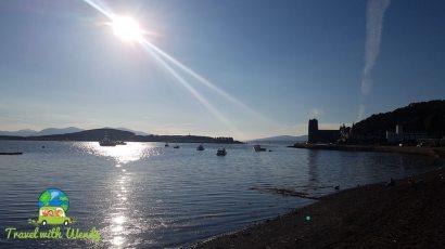 Harbor in Oban