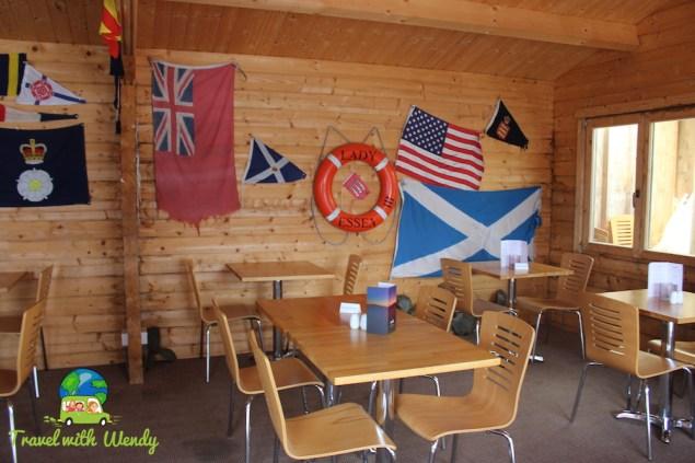 Waypoint restaurant - Kerrara Island - Oban