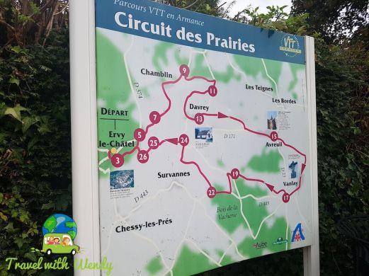 Circling the prairies of France