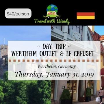 DAY TRIP - JAN 31 2019