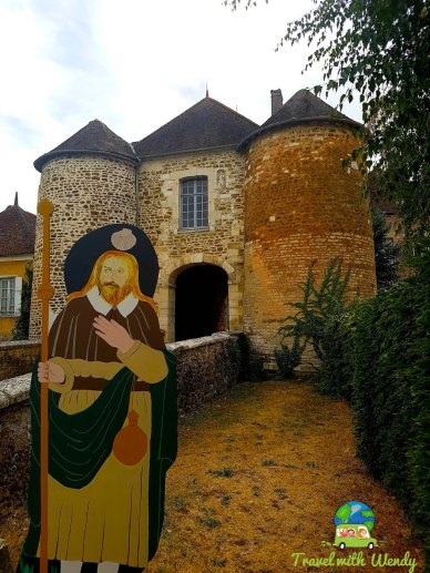Gate to Ervy le Chatel - France
