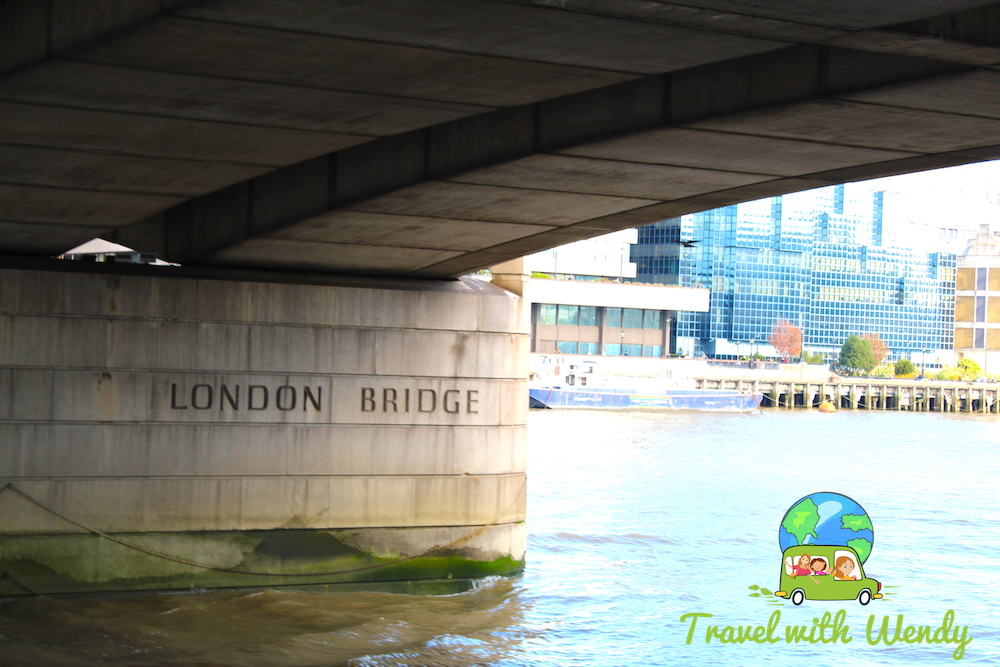 The real London Bridge - only under it!