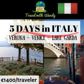 5 days in Italy - destination tours