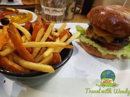 Burgers & fries