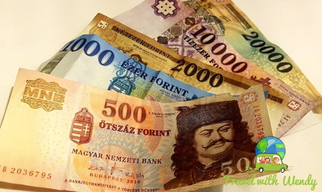 Currency of Hungary - Budapest