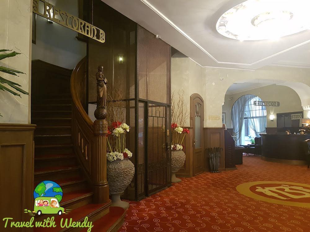 Hestia Hotel Baron - Entrance