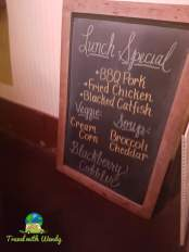 Lunch Special at Puckett's
