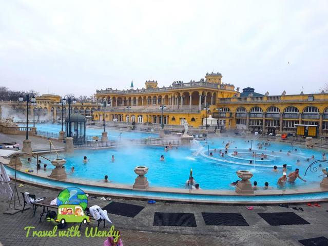 Szecheny Spa - Budapest, Hungary