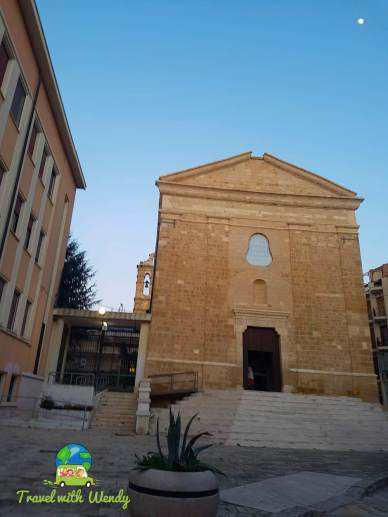 Cathedrals all over the city of Brindisi
