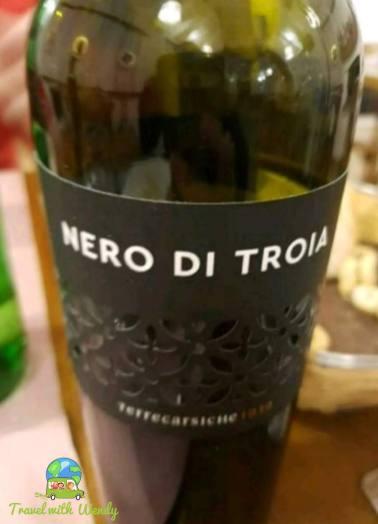 Nero di Troia - several years are good - Brindisi wine