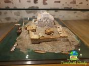 Miniature model of 1700's Castle - Turku Finland
