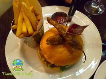 Bacon Burger - Helsinki Hard Rock Cafe