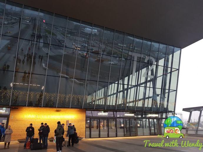 Port of Helsinki glass entrance
