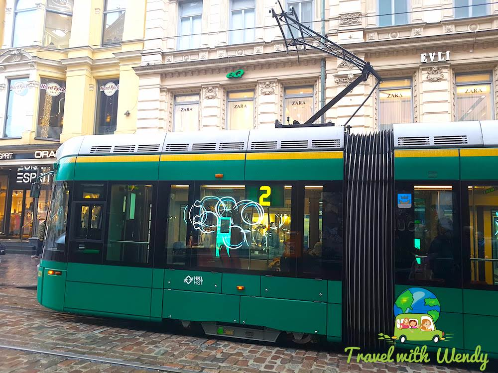 Trams around Helsinki