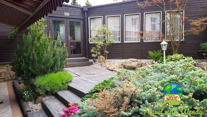 Garden patio - Czech Republic