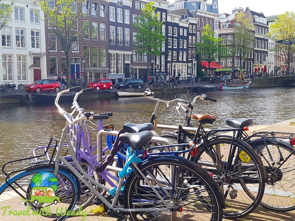 Bikes everywhere! - Amsterdam, the Netherlands