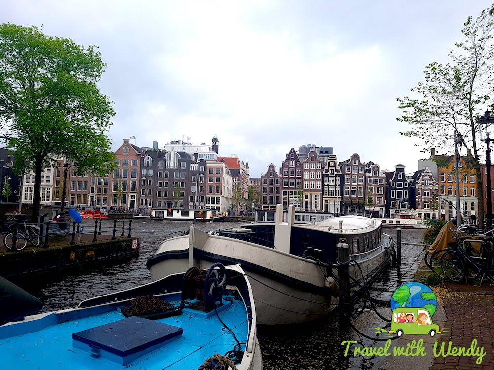 Canals and houses of Amsterdam