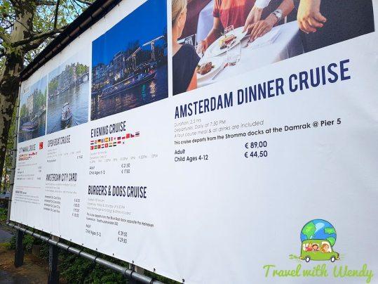 Cruise information - AMSTERDAM