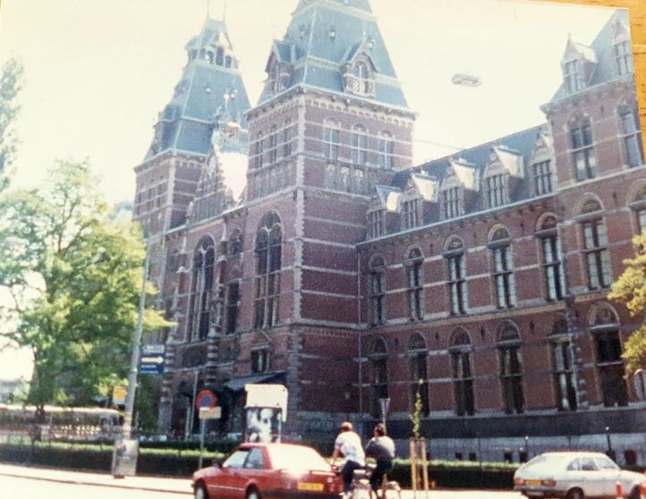 1988 Amsterdam - touring the Netherlands