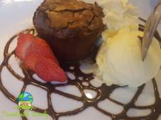 Chocolate Brownie dessert - Sindelfingen Marriott - Stuttgart Eats