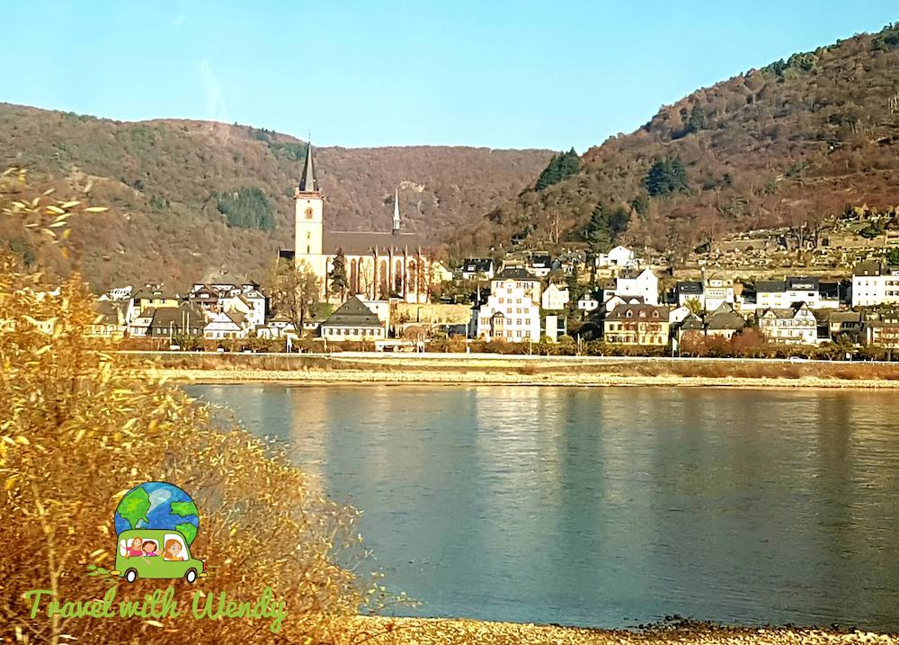 Little villages along the Rhine - Cologne Germany