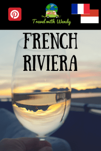 French Riviera Sunset PIN