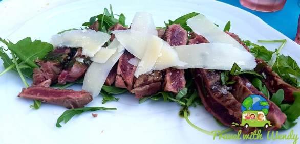 Steak Strip Salad - French Riviera