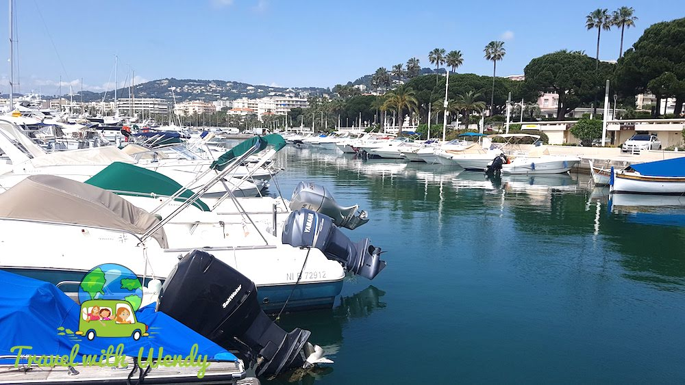 Harbor in Cannes - French Riviera