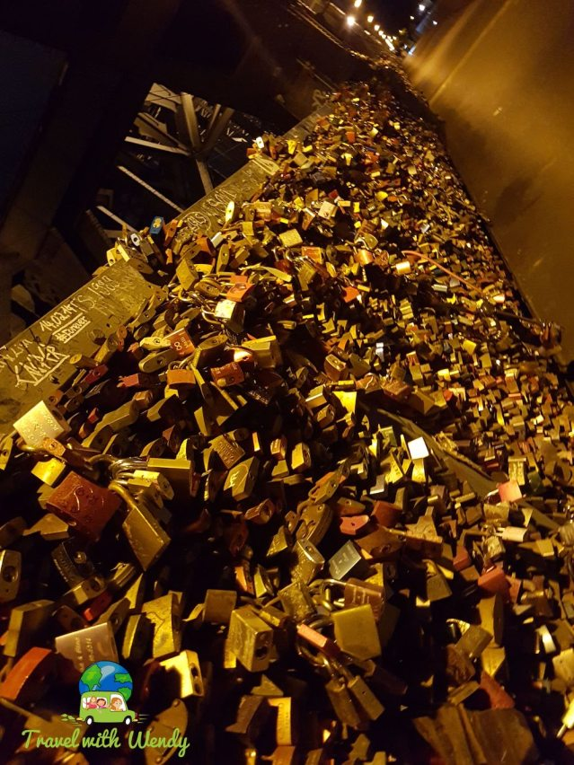 Cologne for the weekend - love lock bridge