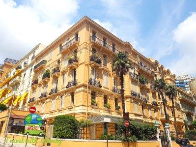 Old architecture - Monaco, Riviera