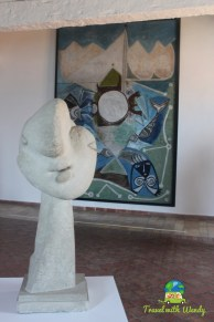 Faces, portraits and Picasso, French Riviera