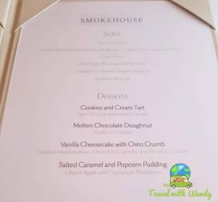 Dessert List