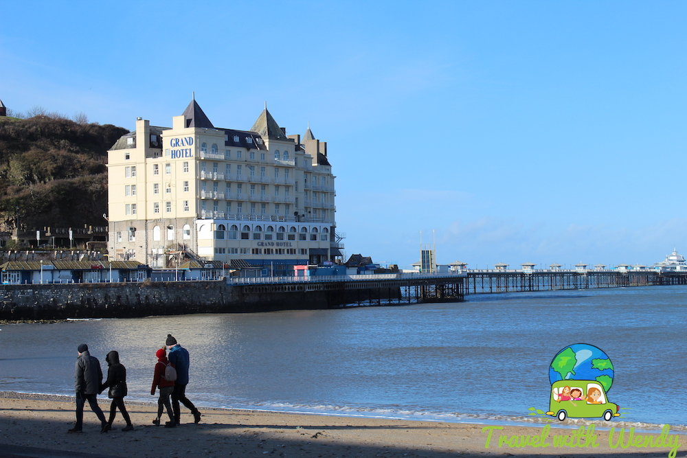 Beach in the spring - Grand Hotel - Wales