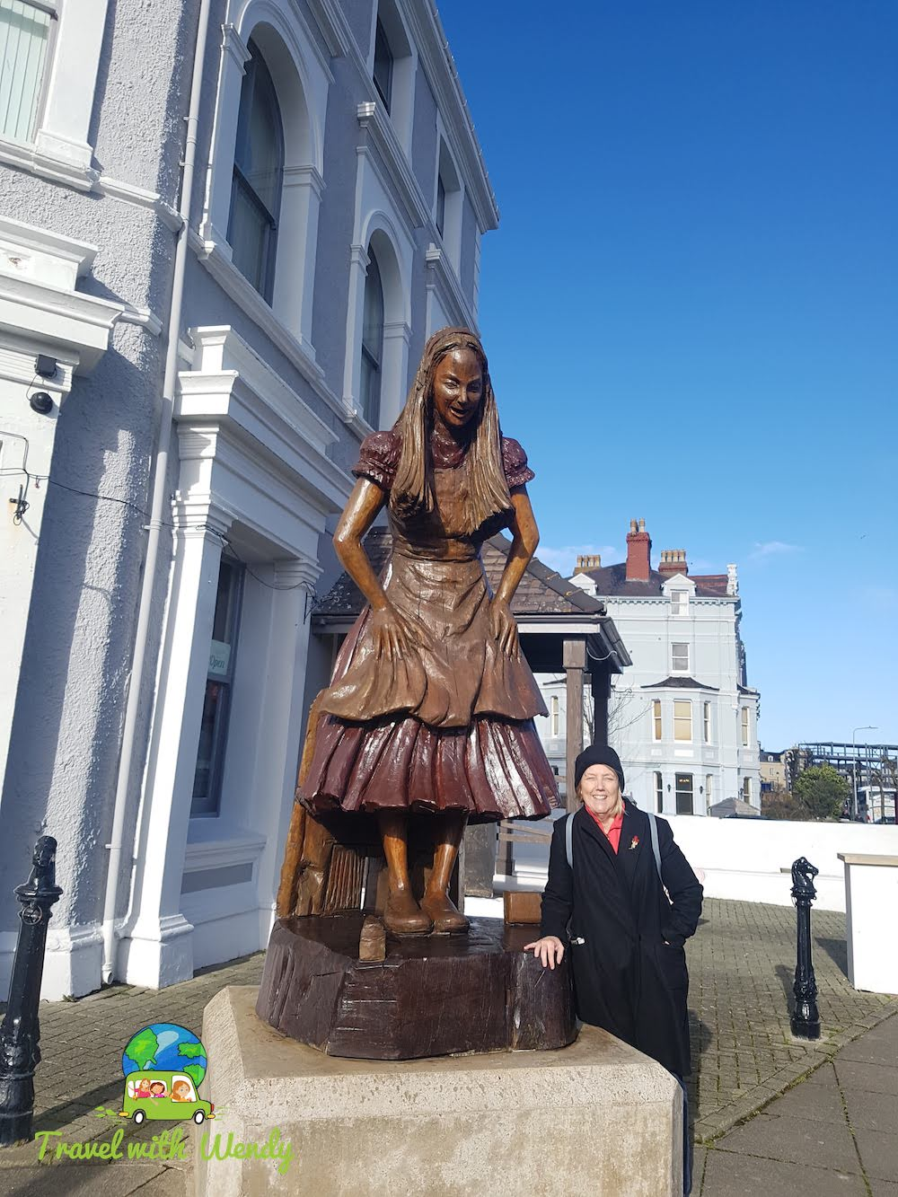 Frances and Alice - in North Wales England