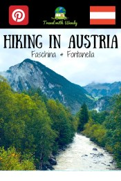 Hiking in Austria - Faschina & Fontanella