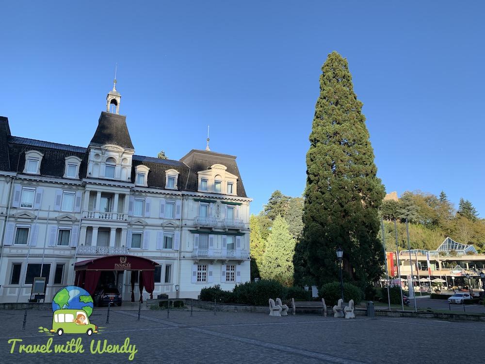 Walking around Badenweiler