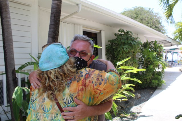 Hugs on the island