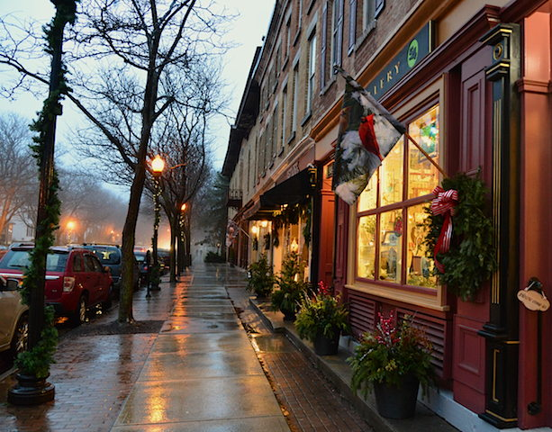 Finding the Fun in the Rain at Skaneateles New York